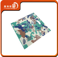 custom camouflage printed plastic bag for packaging