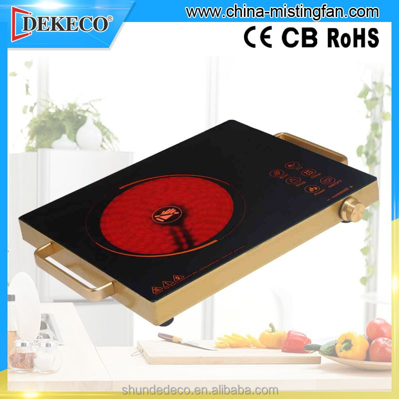 portable stainless steel infrared induction cooktop for cooking