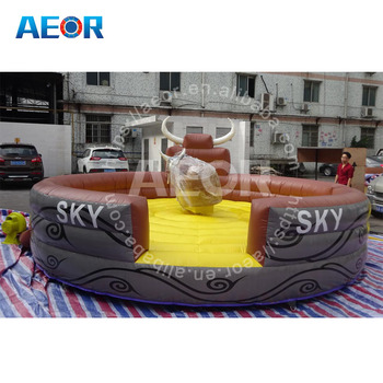 hot sale&high quality cheap inflatable mechanical bull for sale /kids mechanical bull/price mechanical bull