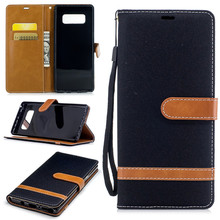 High Quality Flip Leather Wallet Case for Samsung Galaxy Note 8