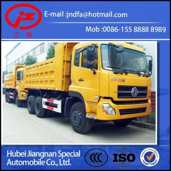 china top 1 truck producer Dongfeng Dalishen DFL 6X4 dump tipper truck 40Ton
