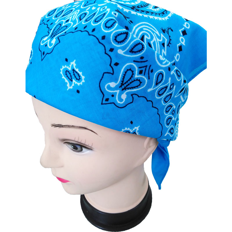 Hip hop teens ideal hair accessaries for short hair bandana caps