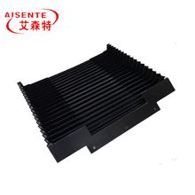 Heat resistance fabric flexible accordion bellows cover for CNC machine way covers