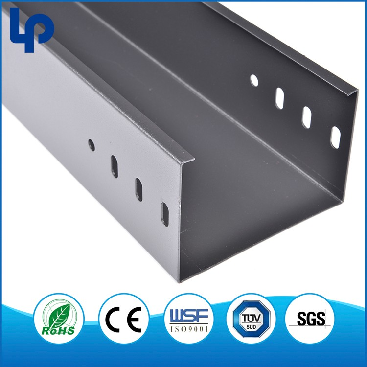 Hot Dip Galvanizing Metal 2000mm Cable Trunking for Projects