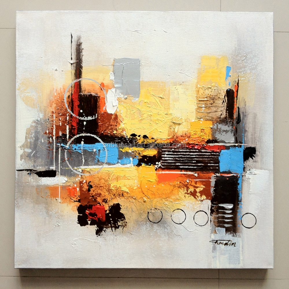 100% Original Creation Canvas Oil Painting,Abstract Oil Painting ...