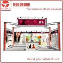 Yota new innovation design beautiful photo exhibition stands display booth