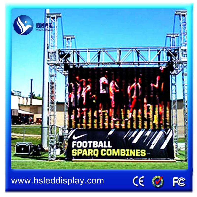 hight quality products outdoor hanging p8 led digital display propaganda movel