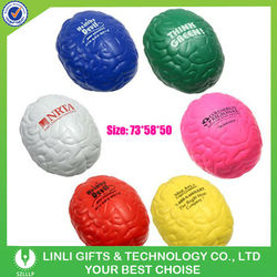 promotion brain shaped stress balls