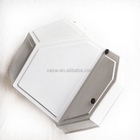 White ABS Thick Vacuum Formed Plastic Enclosure