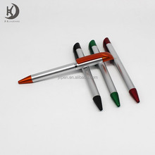 Cute office supplies new product promotional custom logo plastic ball pen for hotel