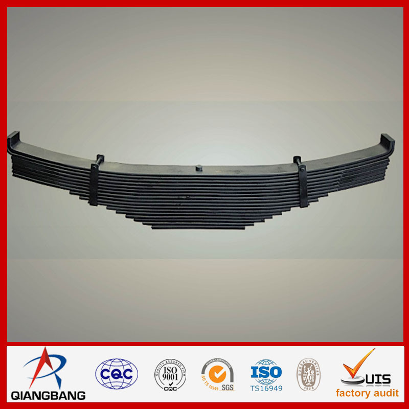Trailer leaf springs parabolic bus leaf spring