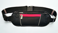 Outdoor fitness leather sports waist bag