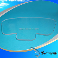 abnormal flat pyrex glass