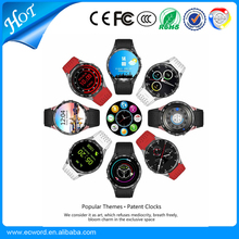 Hot Selling KW88 3G Smart watch for Android 5.1 MTK6580 CPU 1.39 inch 3G Wifi Smartwatch for Samsung Huawei Phone Smart watch