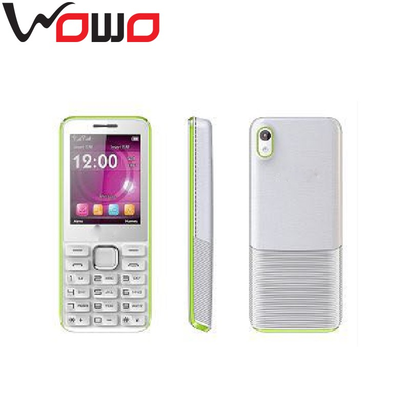 China Low end Phone 2.4 inch Dual SIM Dual Standby TANK 2 Celulares blu