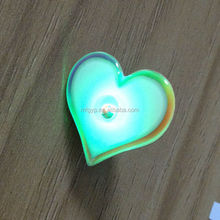 Wholesale custom small size cheap new design led badge