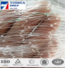 factory direct price extruded plastic pea and bean net/climbing plant support net/PDHE cucumber net