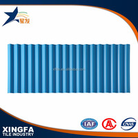 Weather resistance fiber cement corrugated roofing sheet