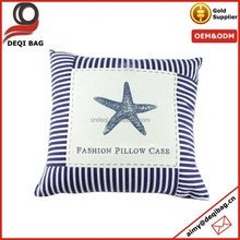 Navy Stripe New Vintage Home Decorative Cushion Cover Throw Pillow Case