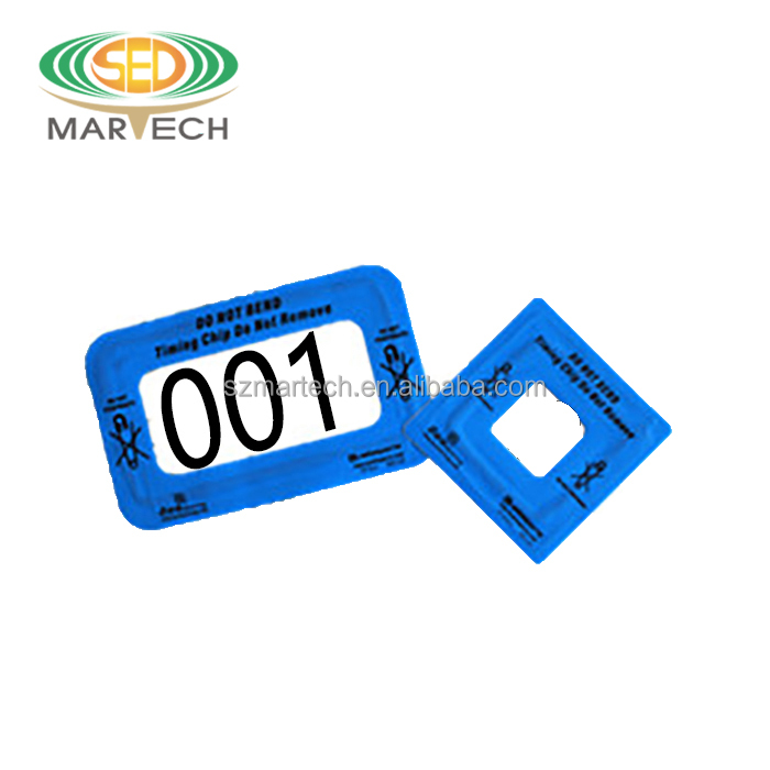 marathon timing use long range transponder rfid