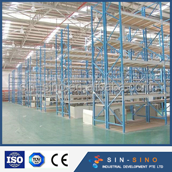 Adjustable China warehouse Heavy duty Steel storage pallet rack