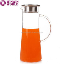 Promotional Wine Drinking Clear Glass Wine Carafe