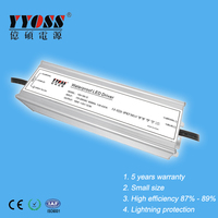 150W Waterproof Constant Voltage 12V 24V 36V 48V LED Driver Transformer
