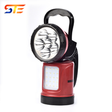 Multifunction Waterproof Design High Power Rechargeable Emergency Strong Light Flashlight