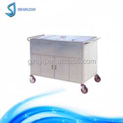 SJ-C11 stainless steel meal delivery trolley