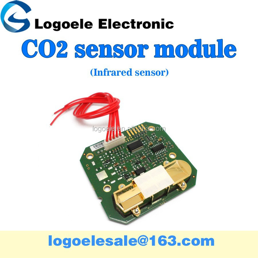 Infrared carbon dioxide sensor module, CO2 sensitivity T6603-5
