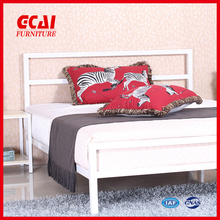 Metal designs popular single cot bed