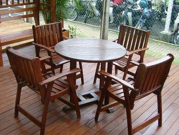 Garden furniture timber works specialist buy garden for Outdoor furniture specialists