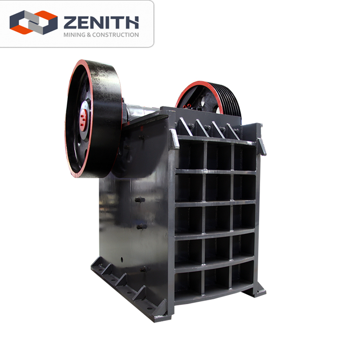 Zenith high quality used metal ore crusher