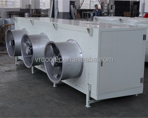 coaxial coil aluminum dryer heat exchanger stainless steel fin air cooler condenser unit