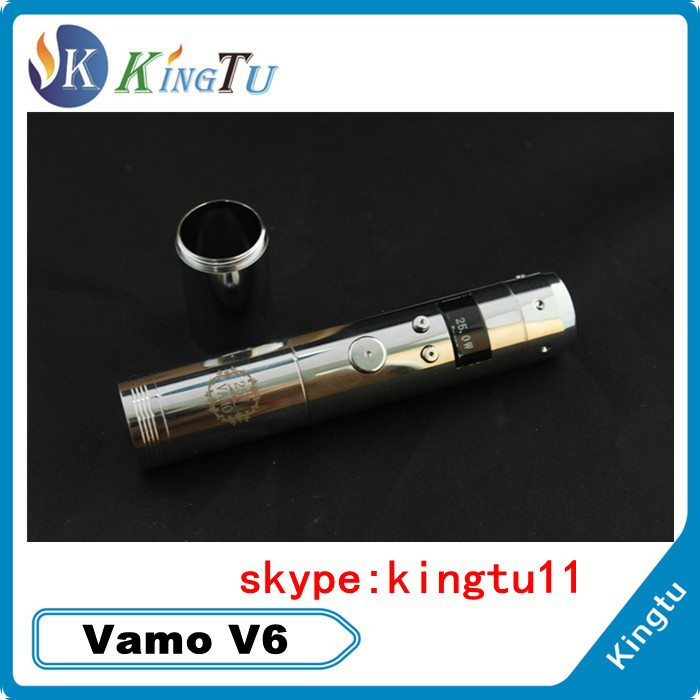 most salable and newest products stainless steel mechanical migo dry herb vamo mod vamo v6 mod from china shenzhen