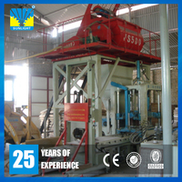 Small automatic concrete block Brick Making machine