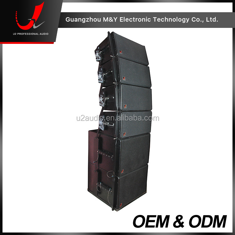 "GEO S1210 2-Way 12"" Line Array Sound System/Outdoor Concert Speaker System"