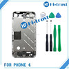 Free Shipping Accept paypal with best quality mobile phone mid frame for iphone 4