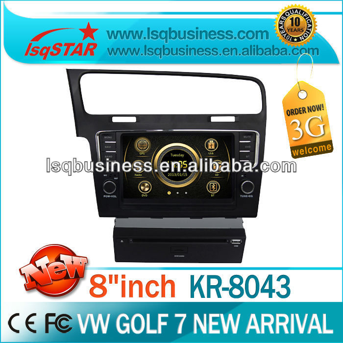 High Quality LSQ Star Car Audio For Vw Golf 7 2013 With Dvd/bluetooth/tv/ipod On-sale!hot!