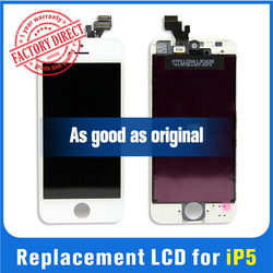 Grade AAA cheap Tianma lcd with digitizer for iphone 5 lcd