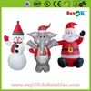 inflatable santa claus christmas decoration outdoor inflatable snowman