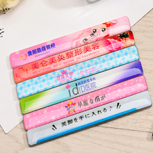 Hot sale nail file crystal glass foot file for nail art