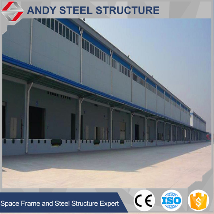 Prefabricated high quality steel structure warehouse building for sale