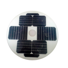 Customize Circle/Round mini solar panel 18W 12V
