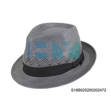 100% Austiralia wool fedora dress hat for men