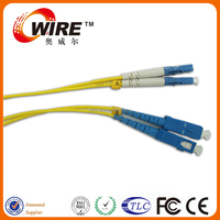 Insertion Lose:<0.2 db Fiber Patch Cord SC-LC-DX-MM With Factory Price