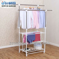 Designing Double Pole Storage Box Clothes