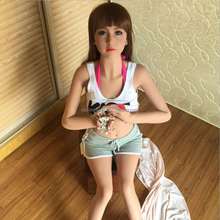 165cm Lifelike Real Full Silicone Sex Dolls With Skeleton Realistic Solid Silicone Love Doll slave doll