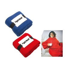 Free Shipping 180gsm Polar Fleece Wearable TV Blanket