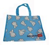 factory wholesale pp woven promotional tote bags/bopp lamination recyclable shopping bag